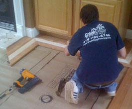 nail down hardwood floor installation