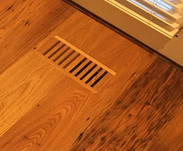 custom flush mount floor vents